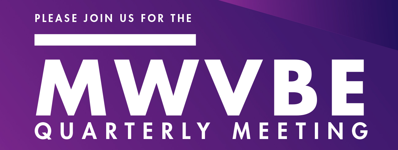MWVBE meeting announcement for March 2019