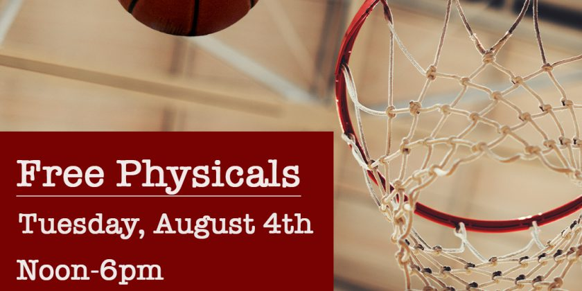 Free Athletic Physicals at Sumner Academy on August 4th, 2020
