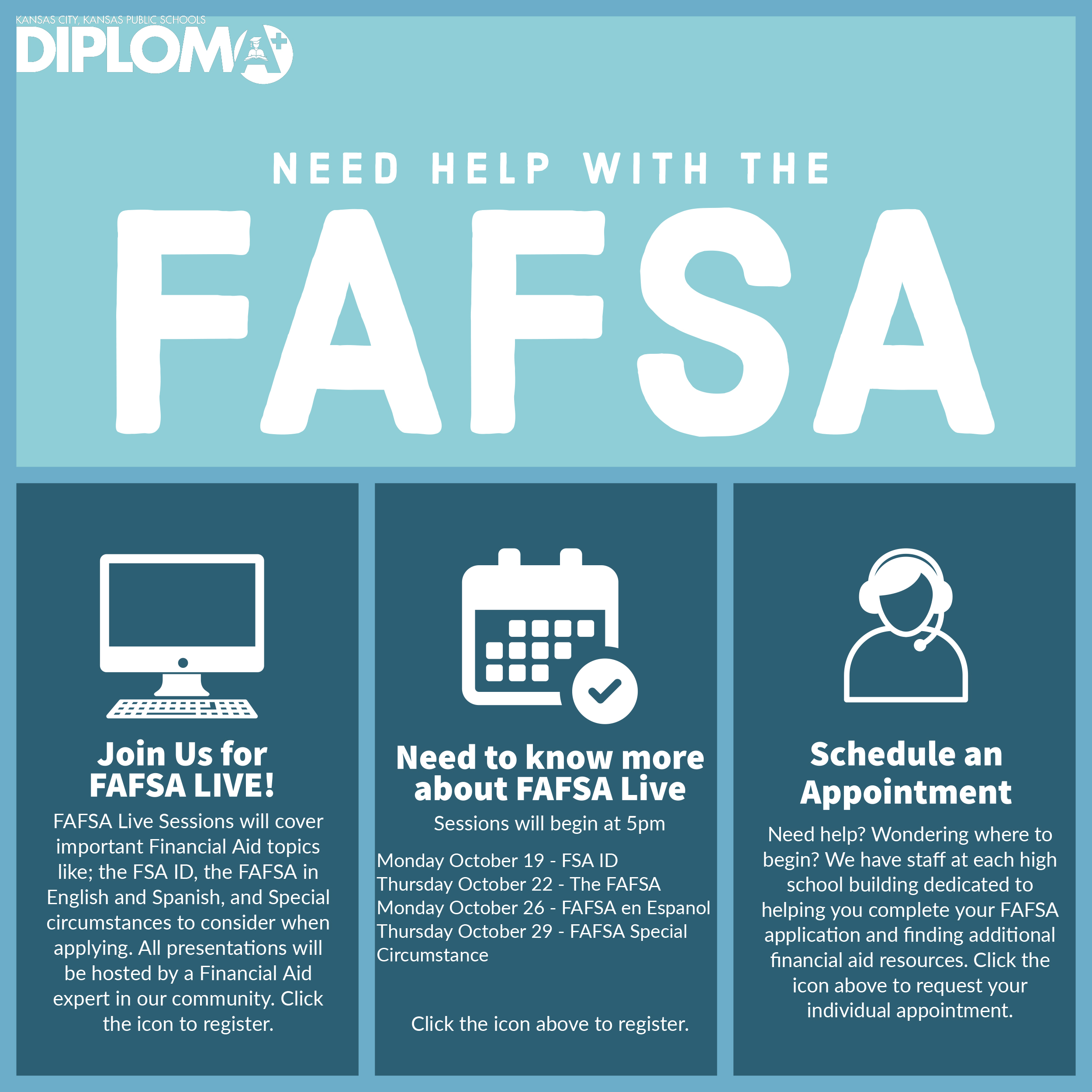 FAFSA Flyer Visual Sample