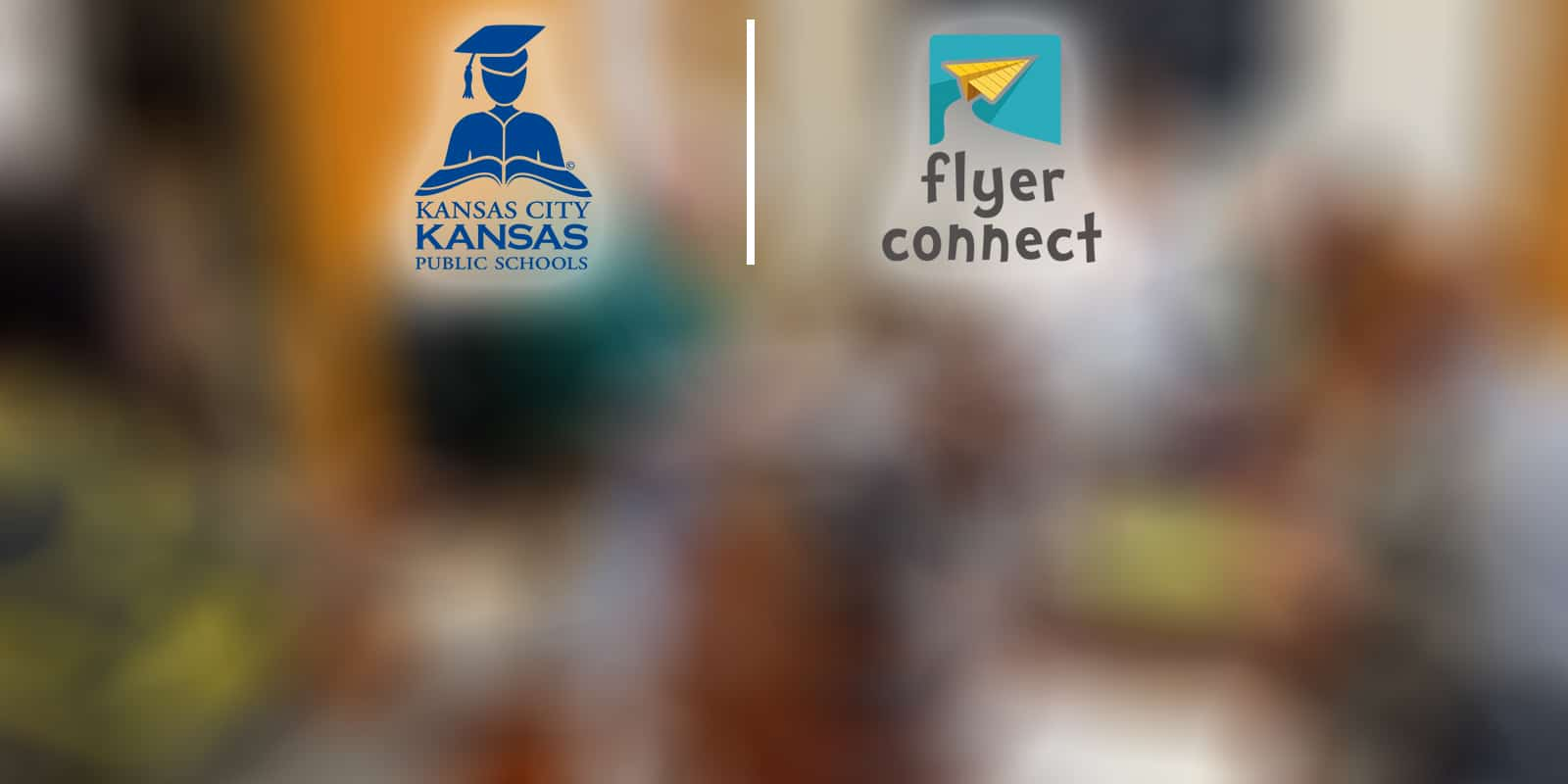 KCKPS and Flyer Connect Logos
