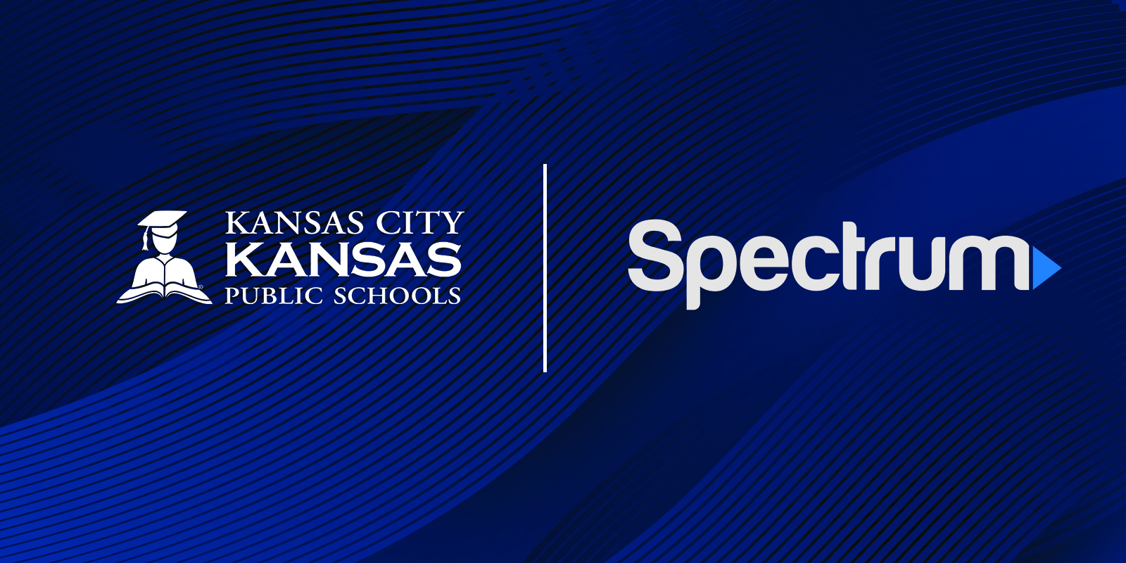 KCKPS and Spectrum logos