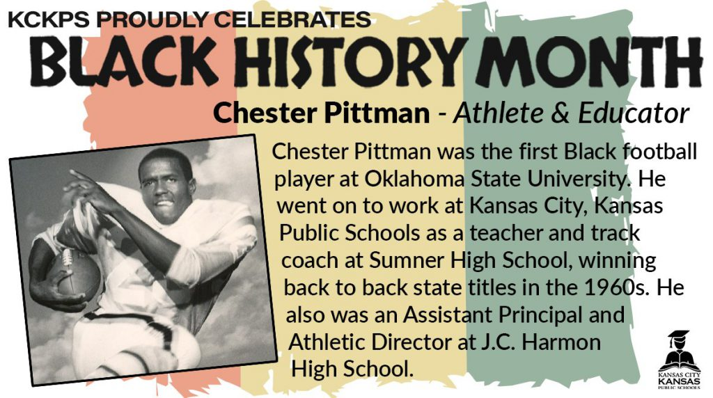 KCKPS Honors Chester Pittman