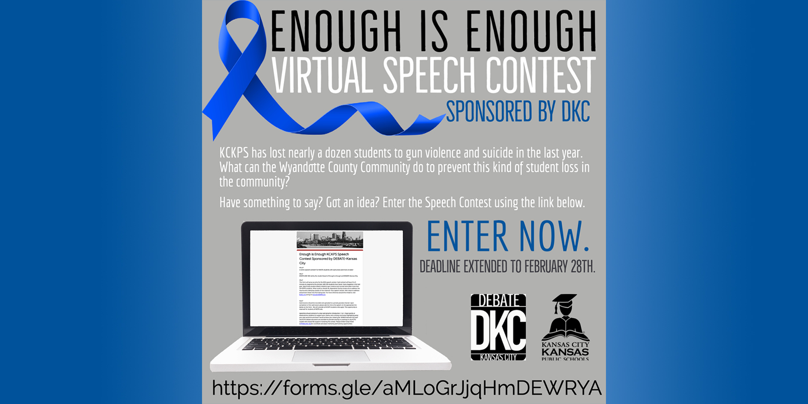 Enough is Enough Speech Contest