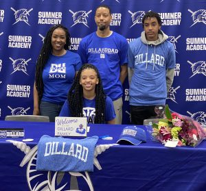 Dillard University signing