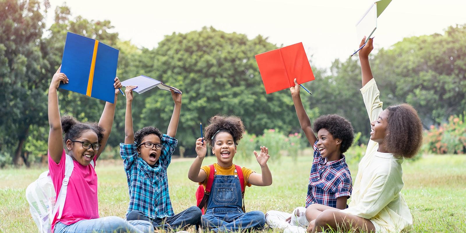 kids in summer school