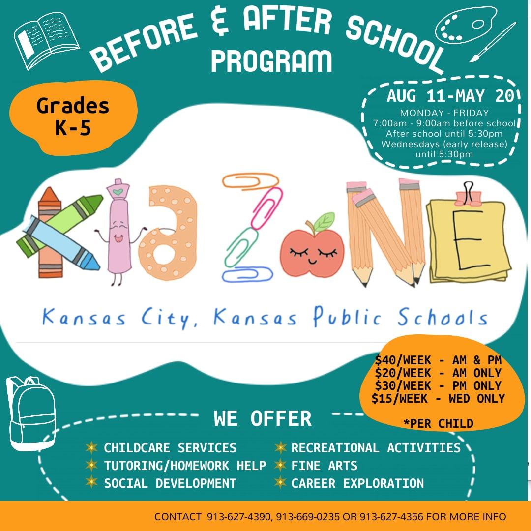 Kidzone infographic
