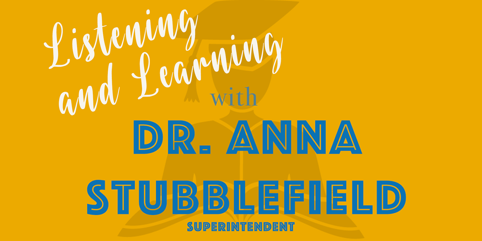 Listening and Learning Tours with Dr. Anna Stubblefield