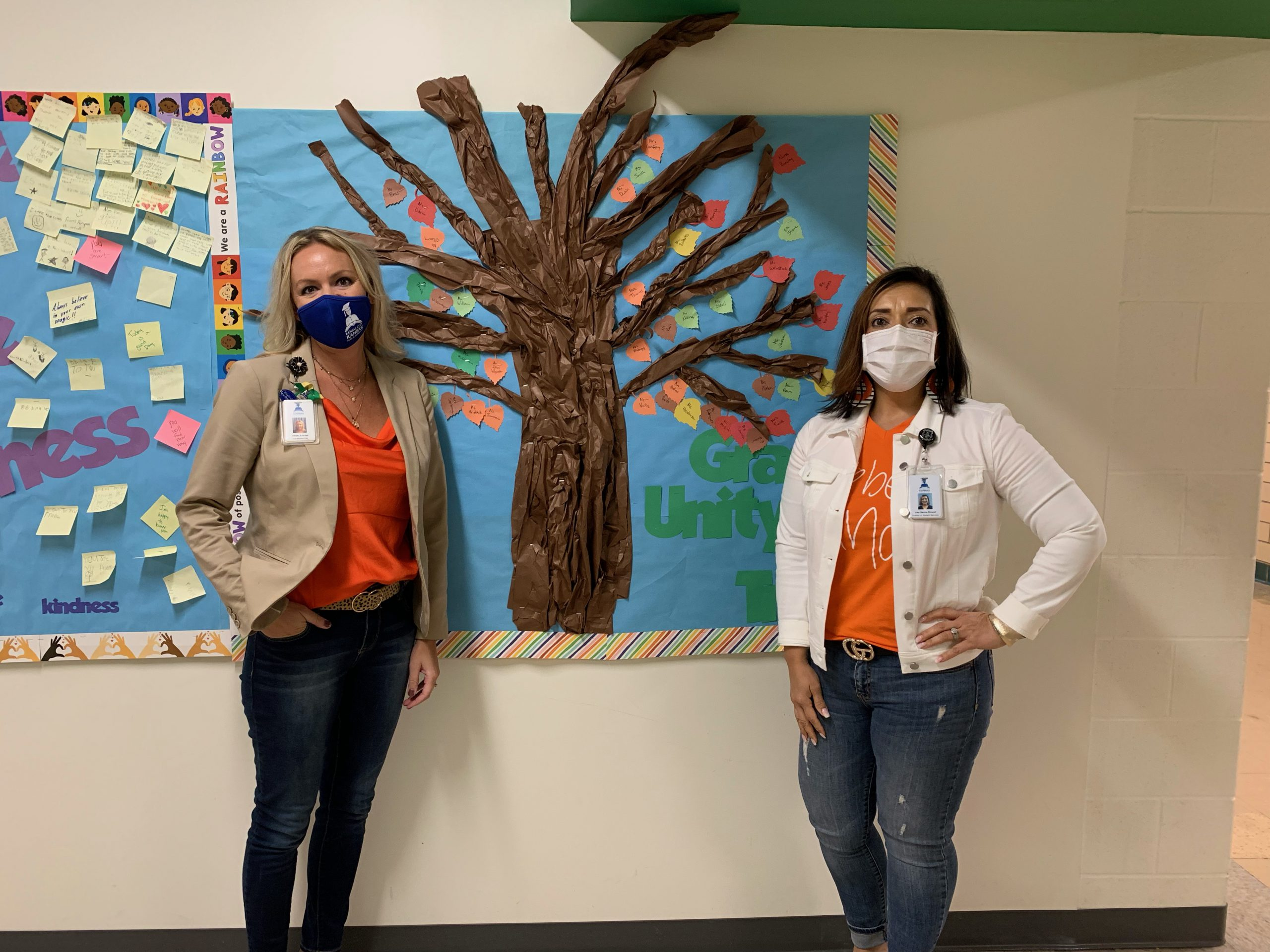 Students on Unity Day