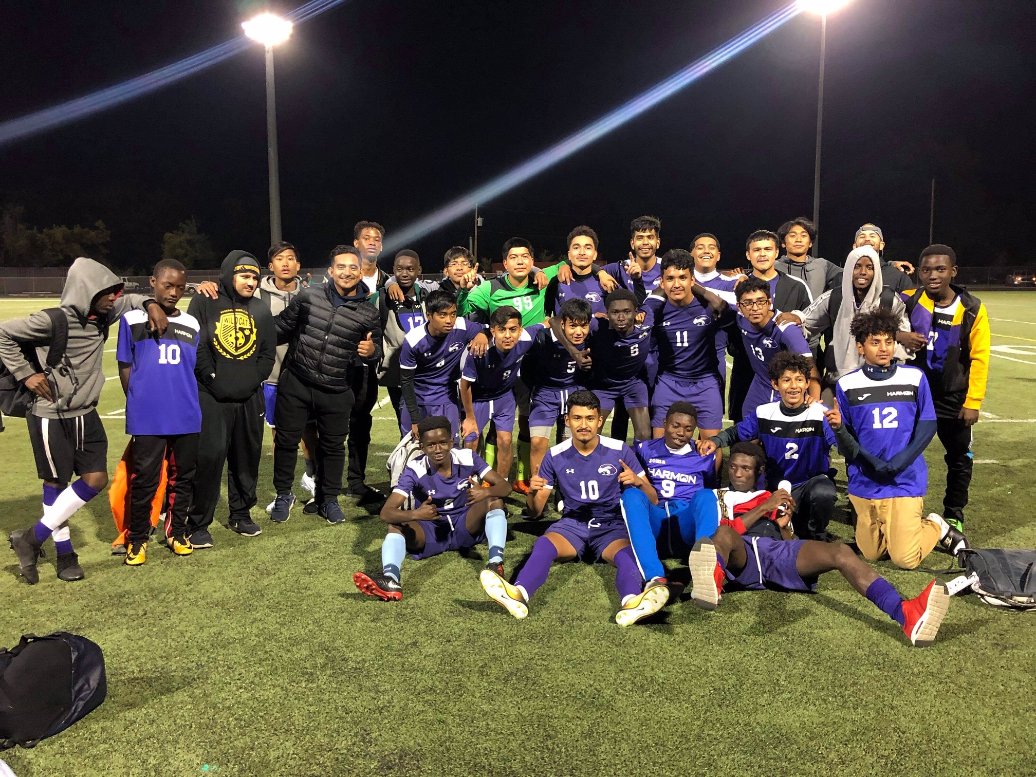 Harmon Boys Soccer 2019 League Champions