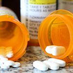 Medication on table